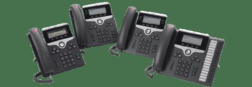 7800 Series IP Phones
